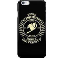 magnolia university cream iPhone Case/Skin