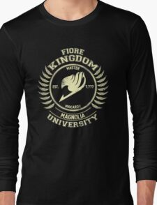 magnolia university cream Long Sleeve T-Shirt