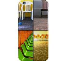 Chairs Collage iPhone Case/Skin