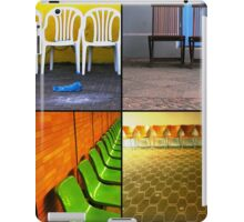 Chairs Collage iPad Case/Skin