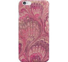 Pink Marble Paper iPhone Case/Skin