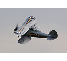 Battle of Britain 70th Memorial Airshow - Gloster Gladiator Mk1 Photographic Print
