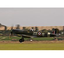 Battle of Britain 70th Memorial Airshow -  Supermarine Spitfire Photographic Print