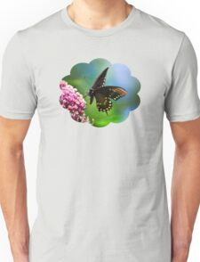 Colorful Spicebush Swallowtail Butterfly Art Unisex T-Shirt