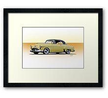 1951 Oldsmobile Holiday 88 Framed Print