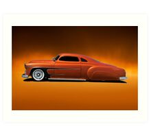 1951 Chevrolet 'Fifties Style' Kustom Art Print