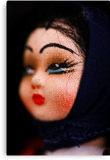 doll face -Hungary by Jen Wahl
