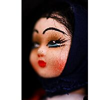 doll face -Hungary Photographic Print