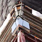 World Trade Center Glass by Peter Bellamy