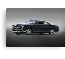 1950 Ford Custom Coupe Canvas Print