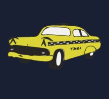 Cute Yellow Cab Kids Clothes