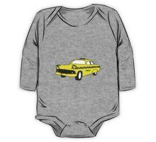 Cute Yellow Cab One Piece - Long Sleeve