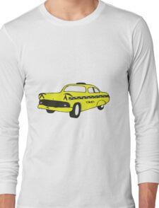 Cute Yellow Cab Long Sleeve T-Shirt