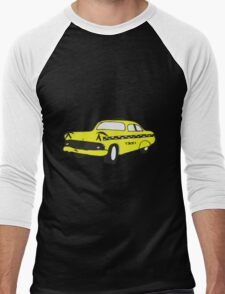 Cute Yellow Cab Men's Baseball ¾ T-Shirt
