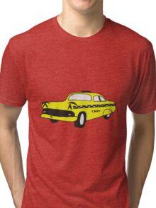 Cute Yellow Cab Tri-blend T-Shirt