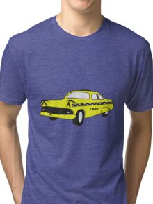 Cute Yellow Cab Tri-blend T-Shirt