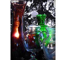 Antique Glass Photographic Print