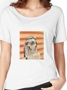 Frogmouth Owl Women's Relaxed Fit T-Shirt