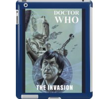 dr who the invasion iPad Case/Skin