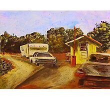 Toll Booth Photographic Print