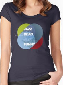 Jazz isn't dead, it just smells funny - Frank Zappa Women's Fitted Scoop T-Shirt