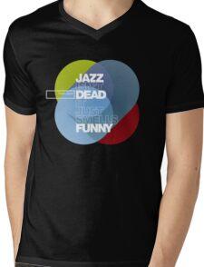 Jazz isn't dead, it just smells funny - Frank Zappa Mens V-Neck T-Shirt