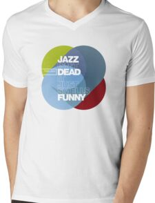 Jazz isn't dead, it just smells funny - Frank Zappa Mens V-Neck T-Shirt