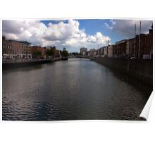 Grattan Bridge - Ireland  Poster