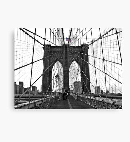 Brooklyn Bridge, NYC Canvas Print