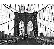 Brooklyn Bridge, NYC Photographic Print