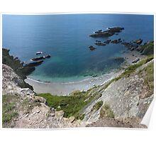 The Cove South Devon UK Poster