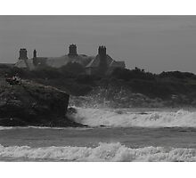 Haze & waves Photographic Print