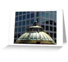Old Stone Bank, Providence, Rhode Island Greeting Card