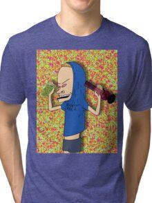 BONGOLIO - BEAVIS & BUTTHEAD Tri-blend T-Shirt