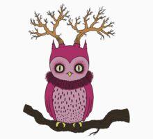 Weird Owl by Angel Szafranko