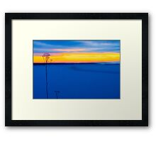 Guardians By The Sea Framed Print