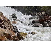 Raging River Photographic Print