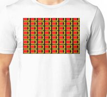 Beautiful Cushions/Extreme Rectangles Oranges Unisex T-Shirt
