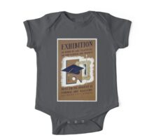 WPA United States Government Work Project Administration Poster 0240 Exhibition of Work by Art Teachers One Piece - Short Sleeve