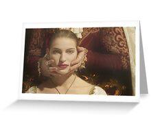 Lady Morgan's Portrait Greeting Card