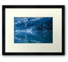 Mountain tarn Framed Print