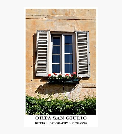 window Photographic Print