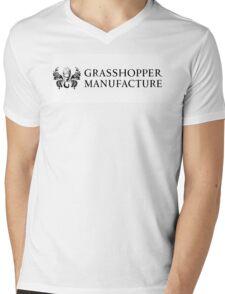 GRASSHOPPER MANUFACTURE SUDA51 Mens V-Neck T-Shirt