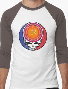 Grateful Dead Om Your Face Men's Baseball ¾ T-Shirt