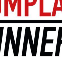 Losers Complain Winners Train Sticker