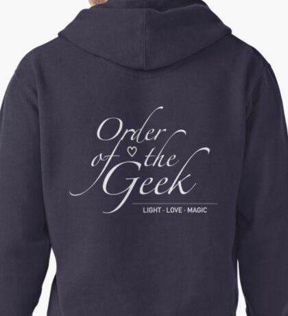 Order of the Geek - Light, Love, Magic Pullover Hoodie