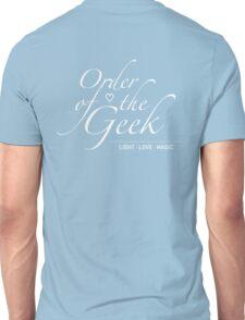 Order of the Geek - Light, Love, Magic Unisex T-Shirt