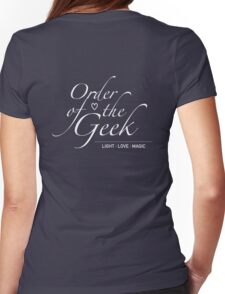 Order of the Geek - Light, Love, Magic Womens Fitted T-Shirt