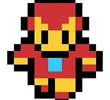 Iron Man Pixel Art by BetaInProgress