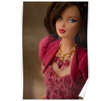 Miss Ruby Barbie Doll Poster